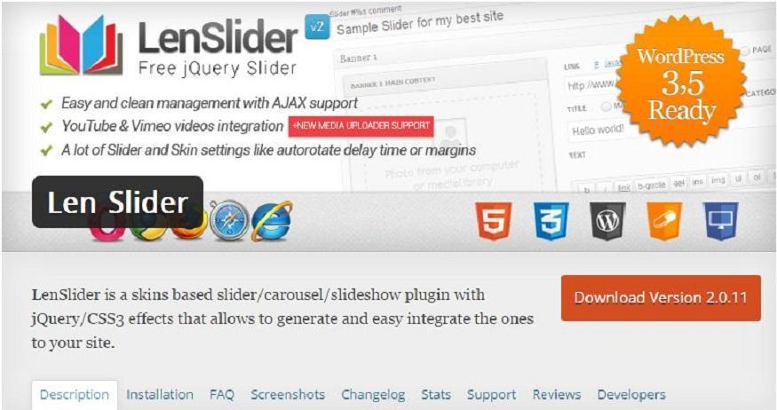 Top 25 WordPress Slider Plugins of 2015