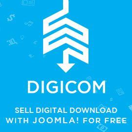 DigiCom - Ecommerce for Joomla!