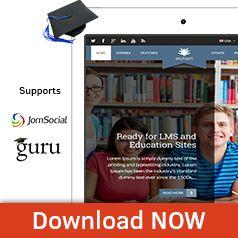 EduXpert - Joomla Education Template