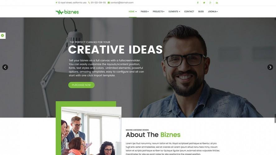 Biznes-Joomla-Template