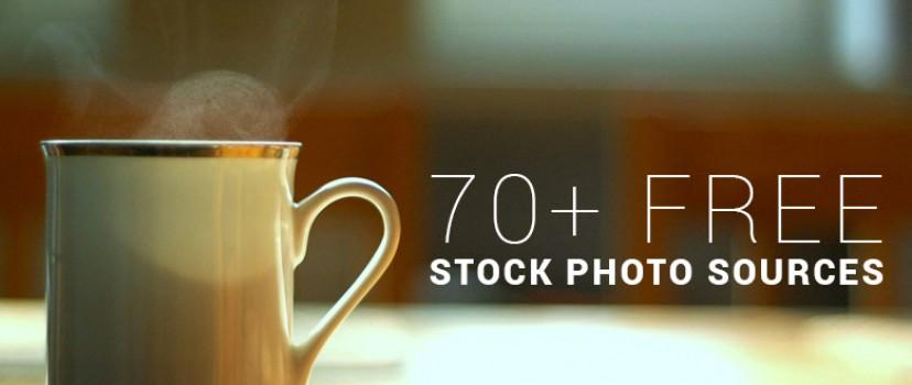 70+ Source of Royalty Free Stock Photos for Your Themes, Website and Blog