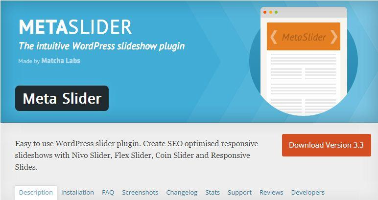 Top 25 WordPress Slider Plugins of 2015