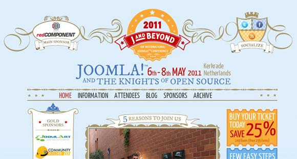 15 Beautiful Joomla Website For Inspiration Round 1