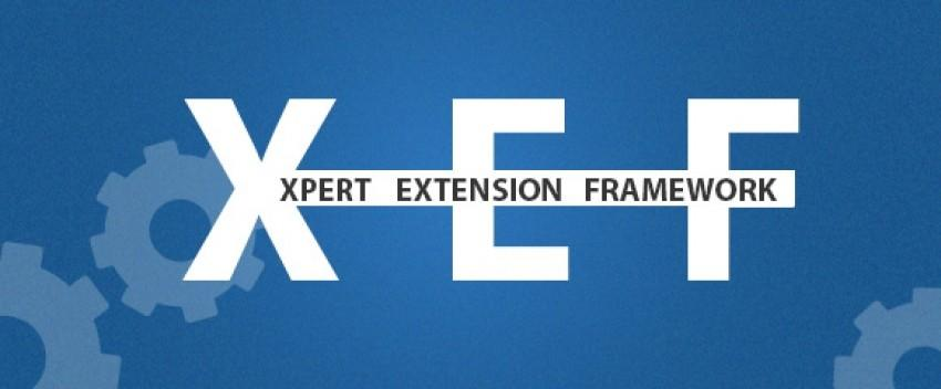 Introducing XEF for new, improved and powerful extensions