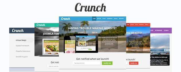 Meet Crunch a Social Business Template for Joomla!