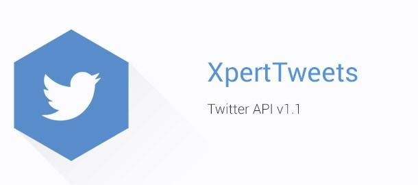 Xpert Tweets 1.2 Released! Now Support Twitter API-1.1