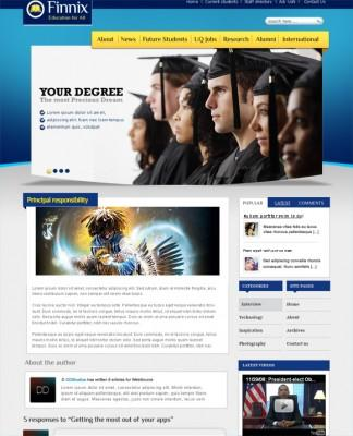 [Preview] Finnix - Education Template For Joomla