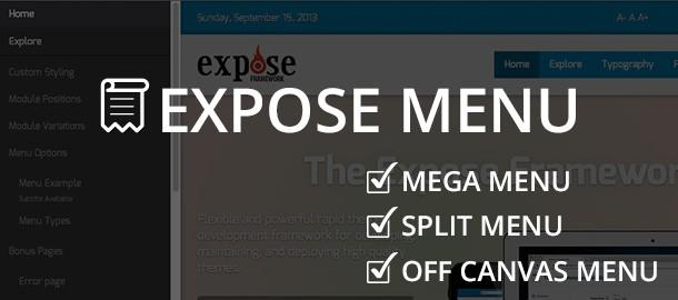 Expose Menu Revamped