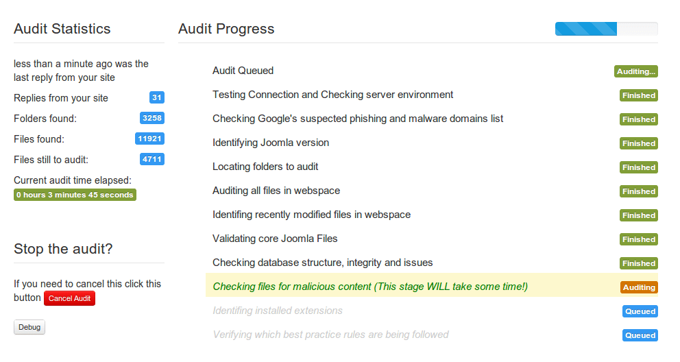 audit_progress