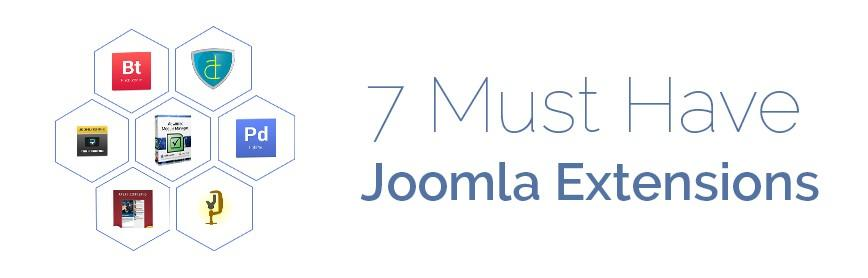 7 Must Have Joomla Extensions for Every Site