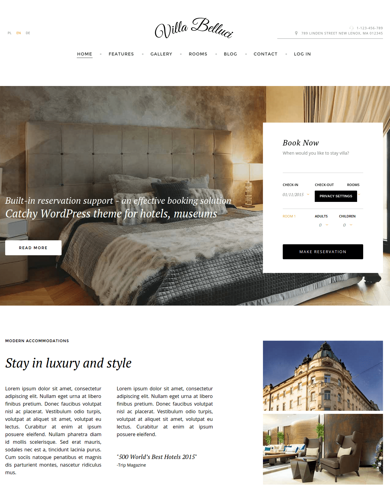 joomla hotel template - best joomla templates october 2015