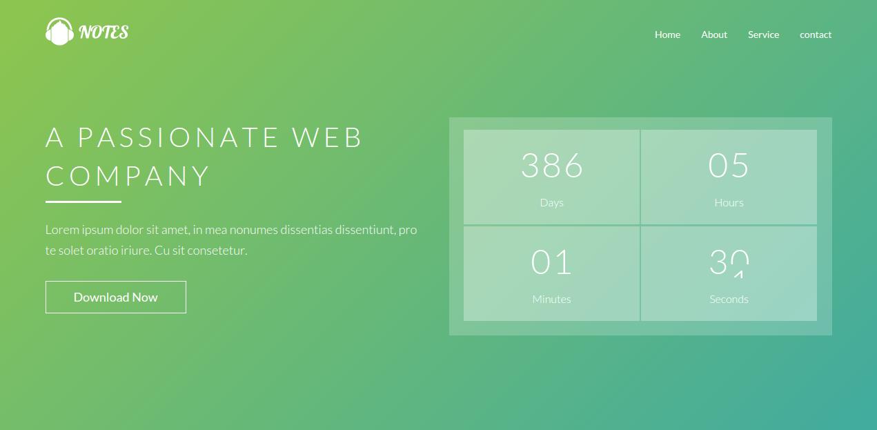 20+ One Page Business WordPress Themes 2015