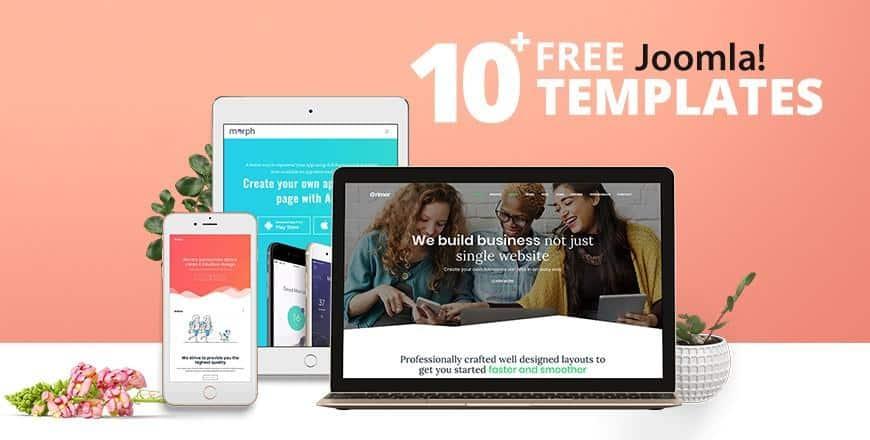 10+ Best Free Responsive Joomla! Templates 2019