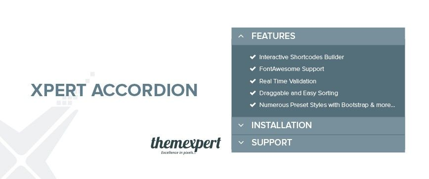 Free  Shorcode Accordion Builder for WordPress - Meet Xpert Accordion