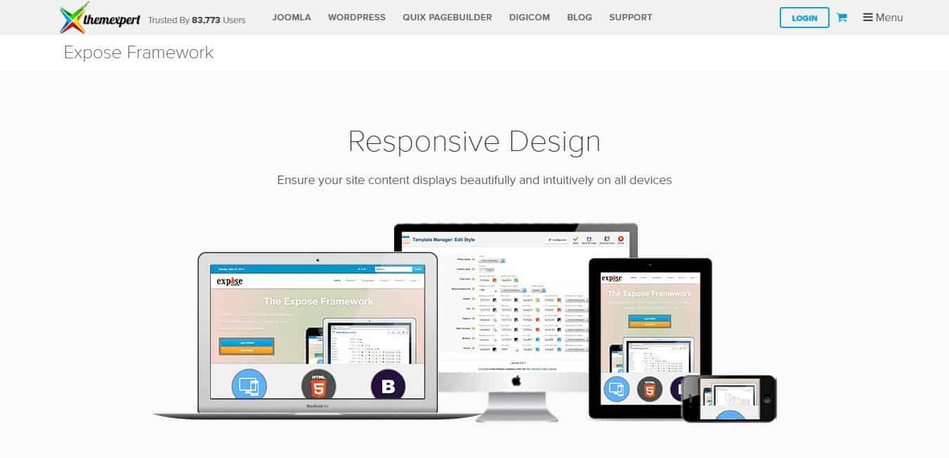 Want To Create Responsive Joomla Templates ? These Template ...