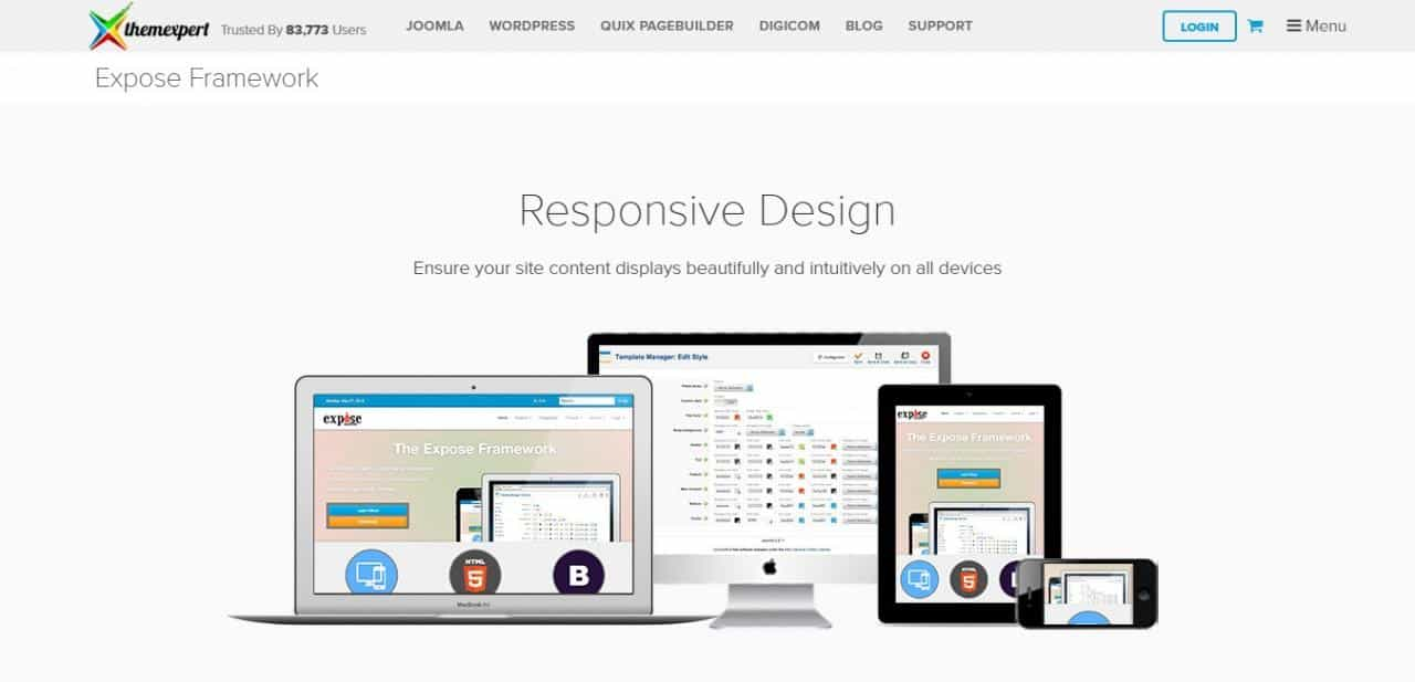 Want To Create Responsive Joomla Templates ? These Template Frameworks Is For You.