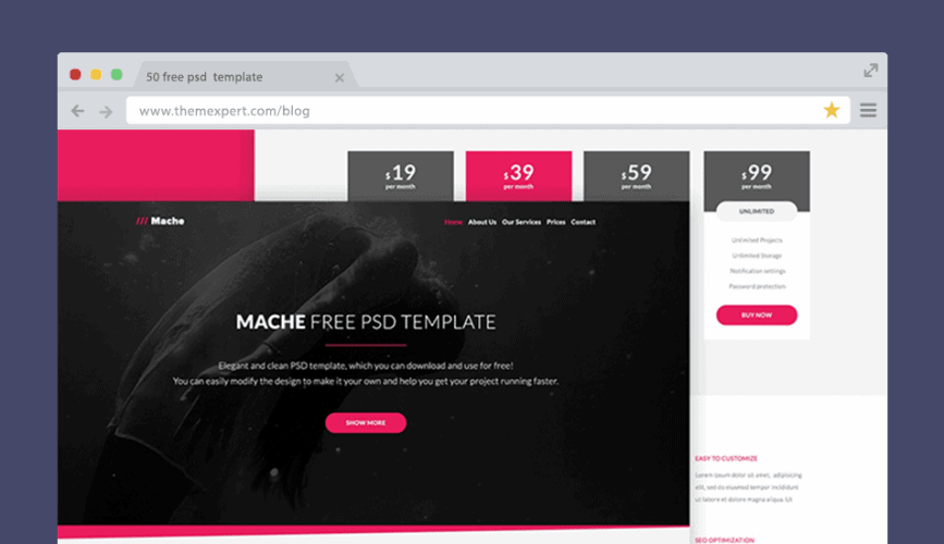 50 free psd website templates for corporate education lms blog this free psd template is a good fit for business as well as portfolio websites the organized grid design makes it effortlessly customizable further wajeb Images