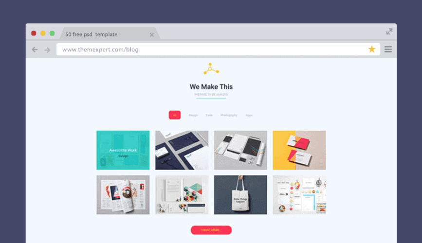 50+ Free PSD Website Templates For Corporate, Education