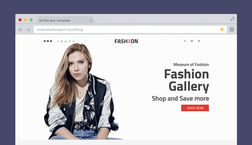 Fashion - Fashion & Lifestyle WooCommerce PSD Template