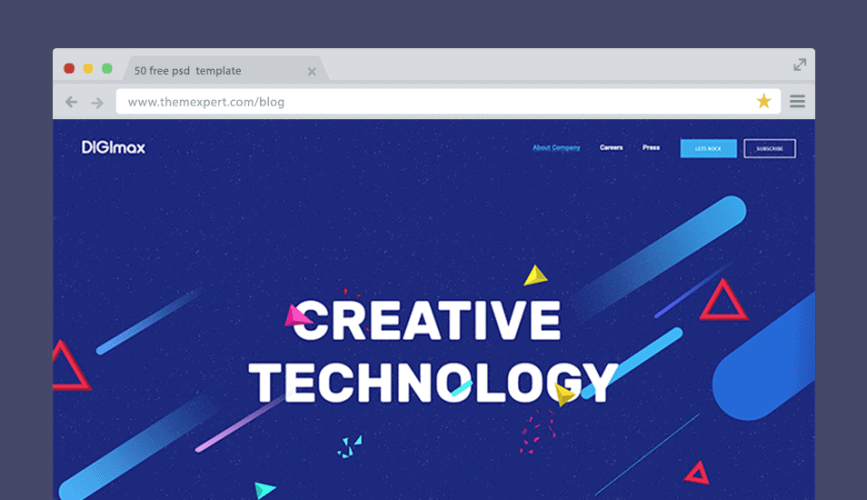 50+ Free PSD Website Templates For Corporate, Education, LMS