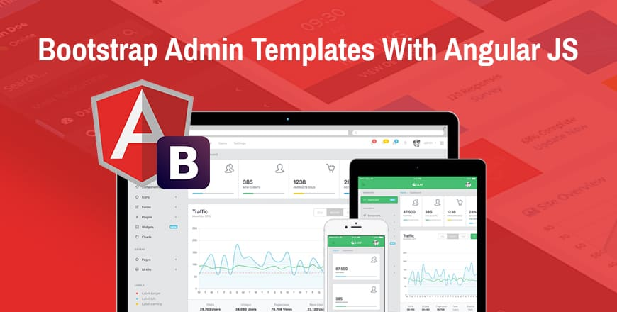 20 Free Premium Angularjs Admin Templates Built With Bootstrap