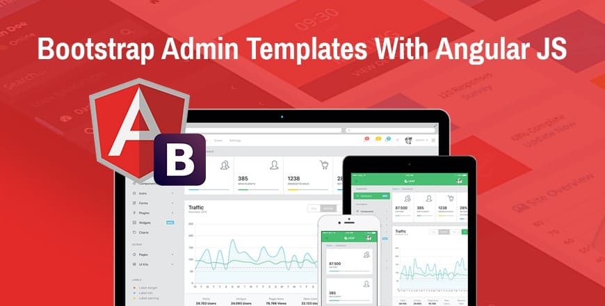 20+ Free & Premium AngularJS Admin Templates Built With Bootstrap