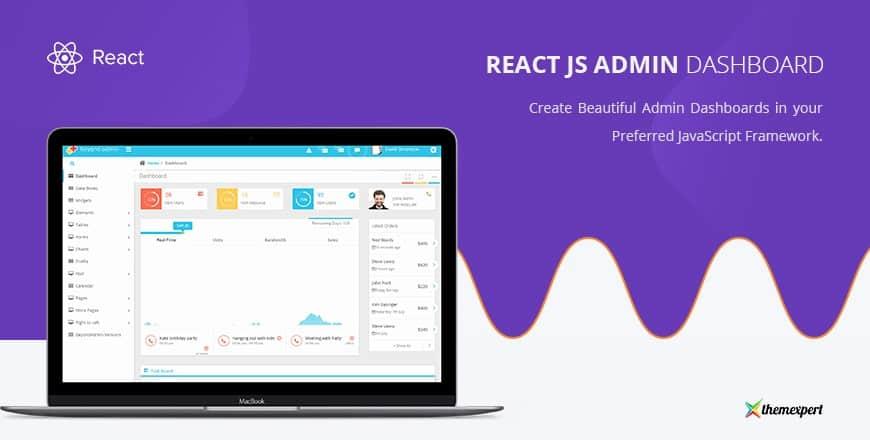 18+ Free & Premium ReactJS Admin Templates