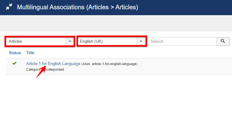making_association_between_two_articles