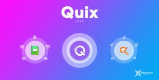 Quix 2.5.2 Is Here! Check the New & Improved Features with Some Bug Fixes.