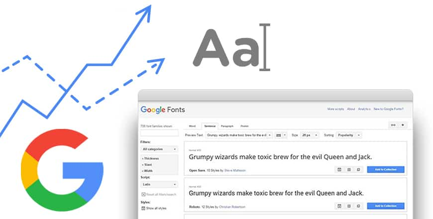 15 Best Google Fonts with Their Combination - You'll Get