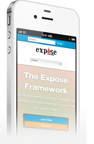 Expose Mobile theme