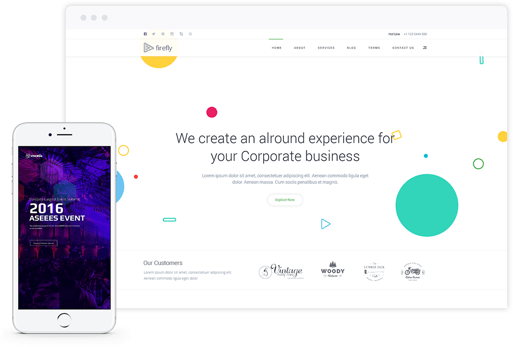 Joomla Template by ThemeXpert