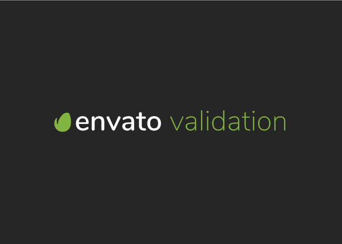 Envato Purchase Validation Image
