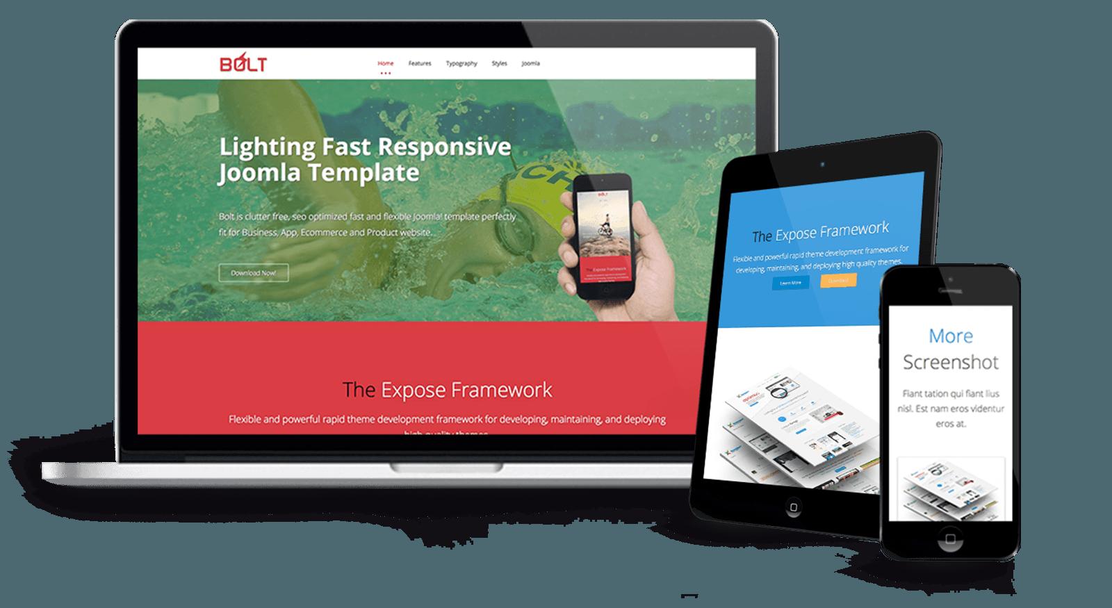 Bolt - Lightning Fast Business Joomla Template - ThemeXpert