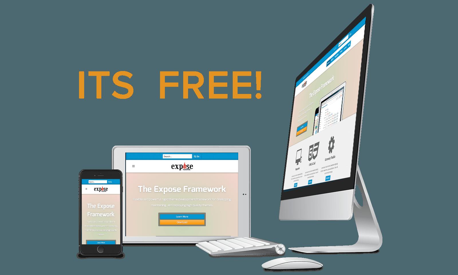 Expose4 responsive free joomla template themexpert for Free joomla templates