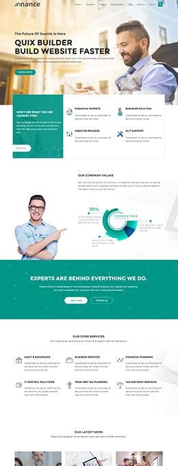 Finance_Homepage 1