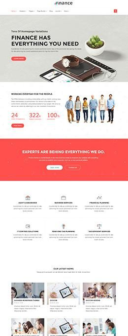 Finance_Homepage 5