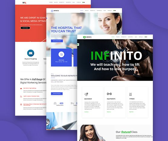 Infinito responsive business joomla template themexpert changelog fbccfo Image collections