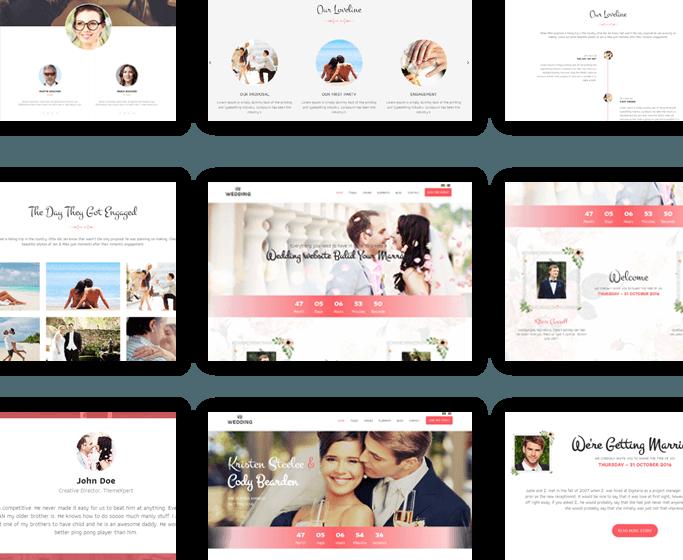 Wedding_Homepage_Variations
