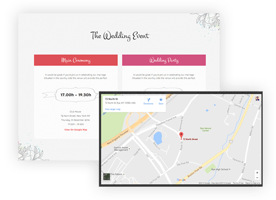 wedding_card_&_Google_map