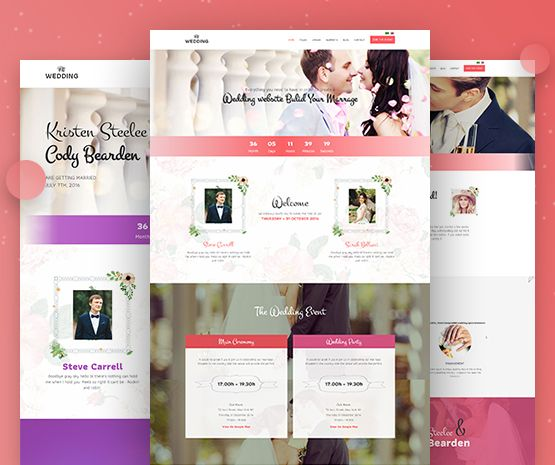 2photographer wedding joomla template
