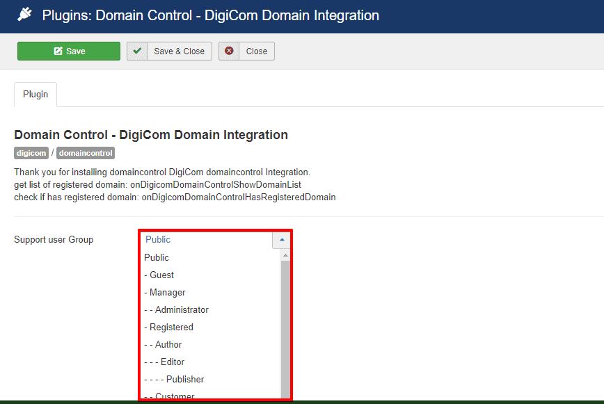 DigiCom-Domain Control