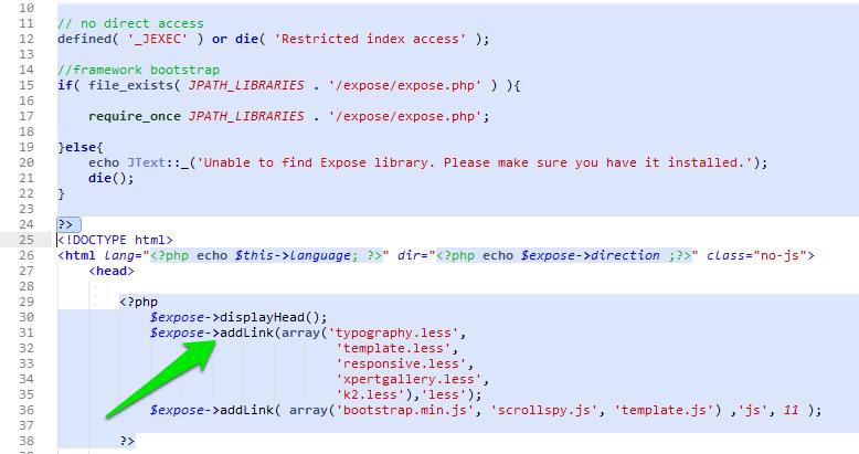 Adding New Less file