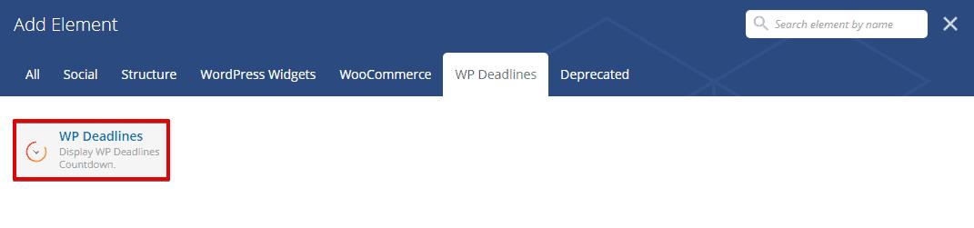 WP Deadlines