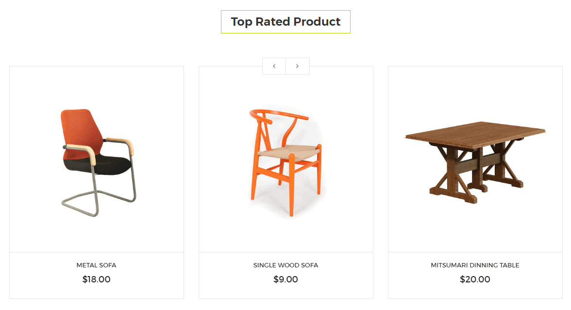 Top Rated Product V1