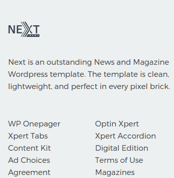 Footer1 section Front
