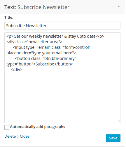 Footer3 section