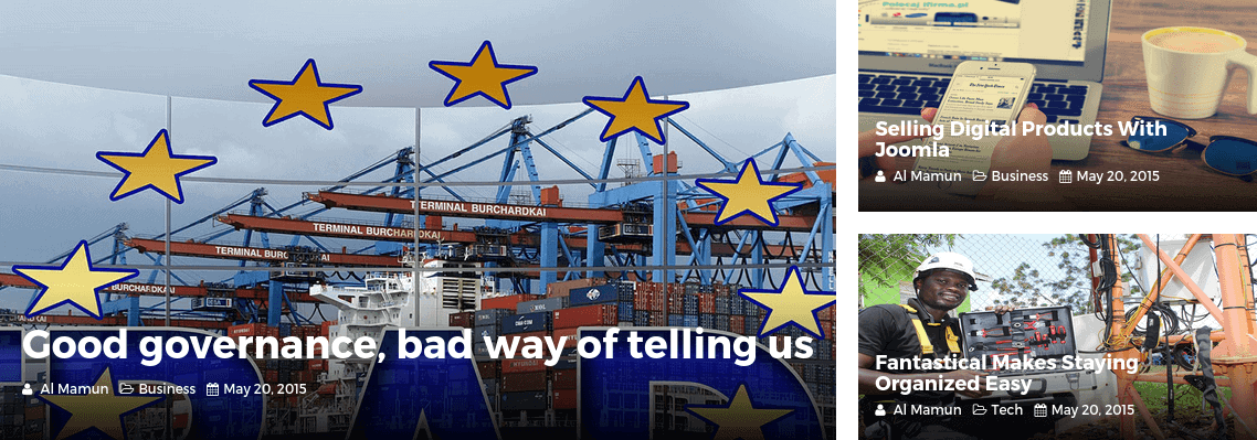 NewsKit Dynamic Layout 02 Frontend