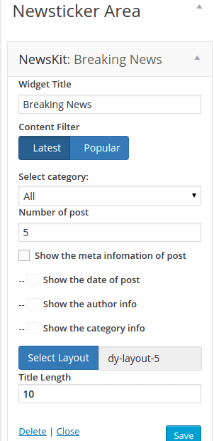 NewsKit Dynamic Layout 05