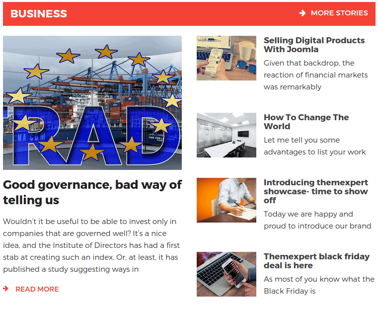 NewsKit Static Layout 02 Frontend